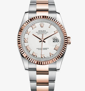 replika Rolex Datejust ur : everose Rolesor - kombination af 904