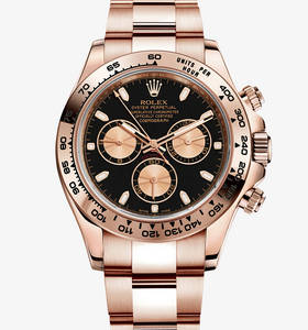 Replik Rolex Cosmograph Daytona Uhr: 18 ct Everose gold - m116505 -0002