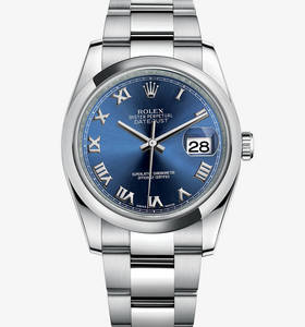 rolex replica Datejust montre : acier 904l - m116200 -0060