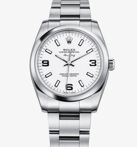replica rolex air-king watch: 904l steel – m114200-0003