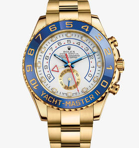 replica rolex yacht-master ii watch: 18 ct yellow gold – m116688-0001