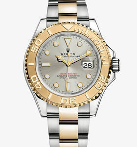 replica rolex yacht-master watch: yellow rolesor - combination of 904l steel and 18 ct yellow gold – m16623-0008