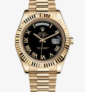 replica rolex day-date watch ii : oro giallo 18 ct - m218238 - 0041