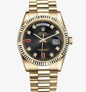 replica rolex watch day-date : oro giallo 18 ct - m118238 - 0394