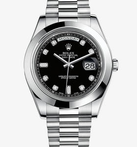 replica Rolex Day- Date II watch : platina - m218206 - 0020
