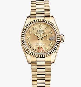 replica rolex lady - Just ur : 18 ct gult gull - m179178 - 0261