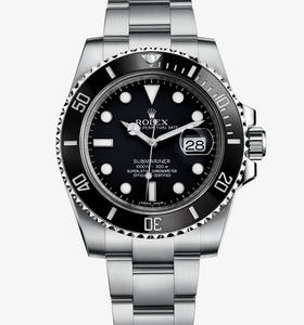 replika Rolex Submariner datum watch : 904L stål - m116610ln - 0001